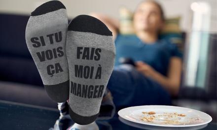 Chaussettes Fais moi à manger