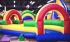 Kangazoom - West Valley Mall: Open Jump Admissions or Party Package at Kangazoom (Up to 46% Off). Three Options Available.