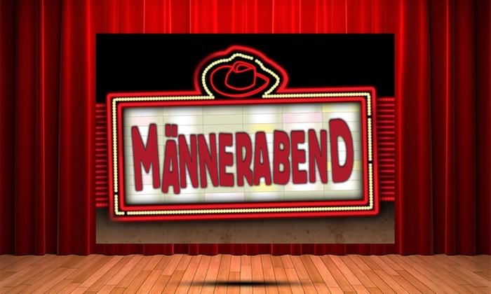"""Theater Mogul - Admiralspalast - Studio,: Theater-Ticket für den """"Männerabend"""" am 25. November im Admiralspalast Berlin (bis zu 29% sparen)"""