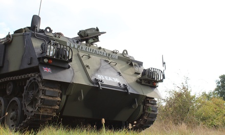 Tank Driving and Amphibious Passenger experience at Challenger