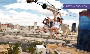 63% Off at the VooDoo Zipline at the Rio Las Vegas at VooDoo Zipline Experience, plus 9.0% Cash Back from Ebates.