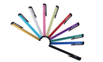 Insten Colorful Universal Touchscreen Stylus Pens (10-Pack)