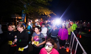 Glow XC: 7K Glow XC Run for One or Two with Headlamps on Saturday, May 28, at 9:30 p.m. (Up to 41% Off)