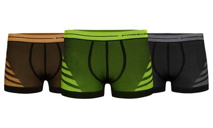 1, 2 o 3 packs de boxers disponbiles en varios tamaños y colores