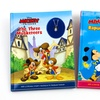Disney Three Musketeers and Rapunzel Charm-Necklace Books