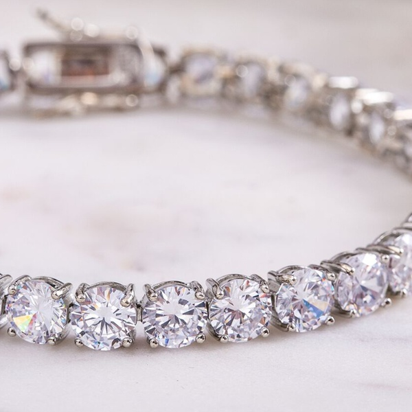 295adbef2 Up To 86% Off on 42.00 CTTW Tennis Bracelet | Groupon Goods