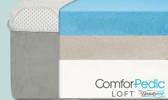ComforPedic Loft from Beautyrest 14 Gel Memory Foam Mattress Groupon