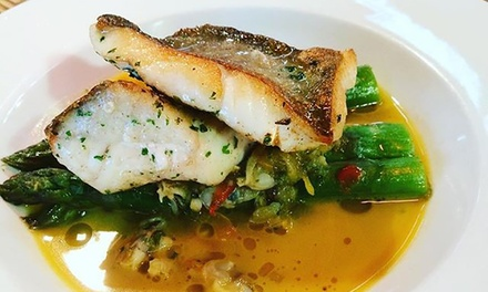 Two-Course French Meal with Wine for Two ($69) or Six People ($199) at La Cigale French Bistro (Up to $375 Value)