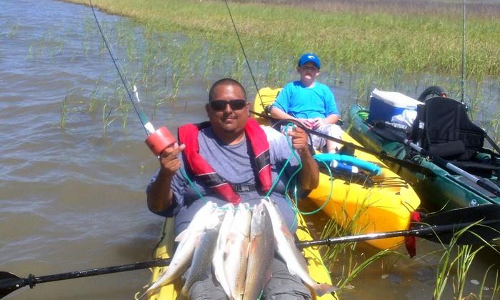 Private fishing charter san luis pass kayak groupon for San luis pass fishing