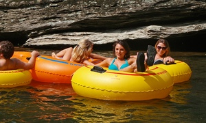 50% Off Tubing Trips at River and Earth Adventures Inc, plus 6.0% Cash Back from Ebates.