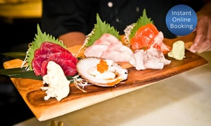 Crane Bar Sydney: 2.5-Hour Sushi and Sashimi Masterclass for One ($59), Two ($99) or Four ($179) at Crane Bar Sydney (Up to $436 Value)