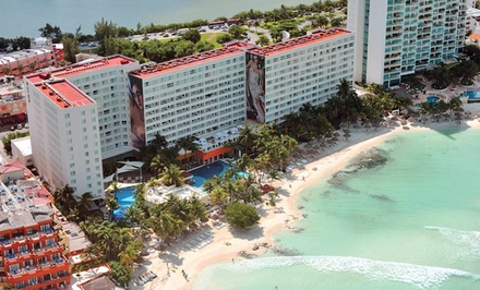 3-, 4-, or 5-Night All-Inclusive Stay with Taxes and Fees Included at Grand Oasis Viva in Cancún, Mexico