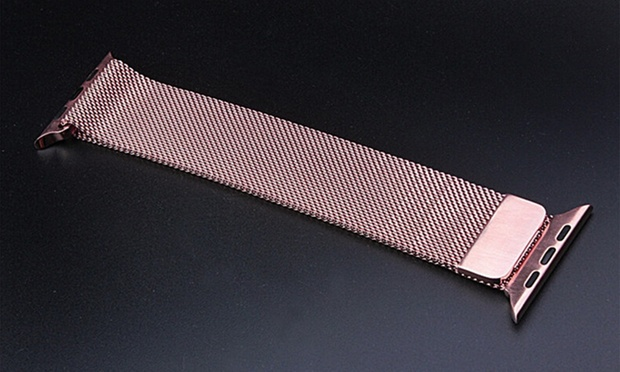 $18 for a Stainless Steel Milanese Loop Replacement Band for Apple Watch