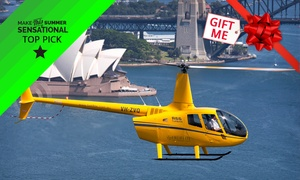 Bankstown Helicopters //: $379 Sydney Harbour Helicopter Flight for Two or Three People with Bankstown Helicopters (Up to $850 Value)