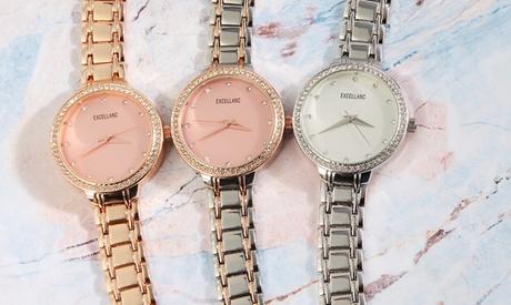 1 o 2 relojes Excellanc para mujer en varios colores