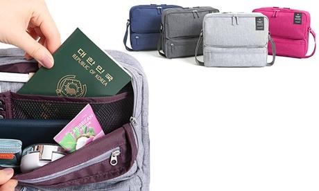 1 o 2 bolsas de viaje con bandolera Oferta en Groupon