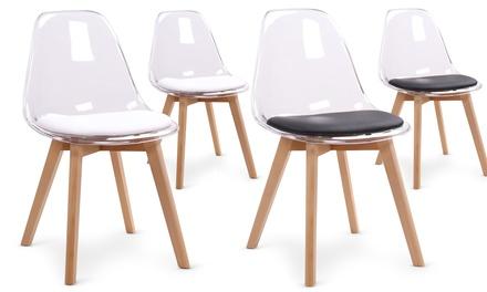réduction noir à Lot ou de 90 89 chaises € 2 Luciablanc de LR53Ajq4
