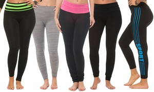 Women's Leggings Mystery Deal (5-Pack) at Women's Leggings Mystery Deal (5-Pack), plus 9.0% Cash Back from Ebates.