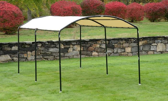 monarc steel frame canopy