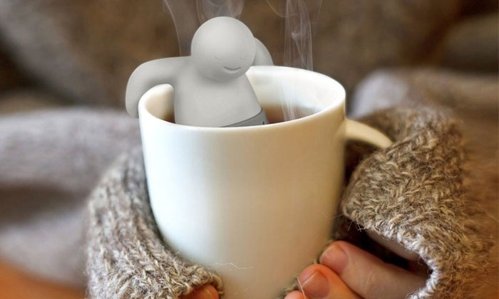 Up To 83 Off Mr Tea Shaped Infusers Groupon