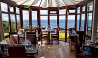Three-Course Dinner with Prosecco for Two or Four at The View Restaurant  (Up to 52% Off)