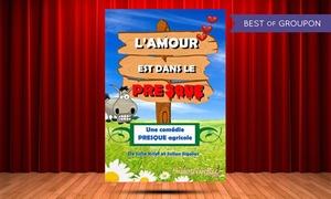 La Comédie de Nancy: 2 places pour l'un des 6 spectacles proposés au choix à 18 € à la Comédie de Nancy