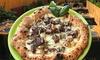 Menu pizza o aperitivo in terrazza