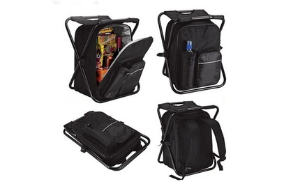 $35 for a Folding Chair Cooler Backpack