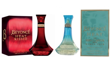 Beyonce Heat Kissed or Mrs Carter World Tour 100ml EDP Spray from £11.99