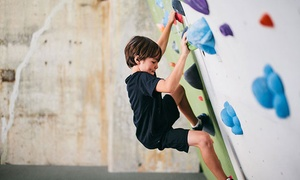 Climb So iLL: Five-Days of half-day Kids' Indoor Rock-Climbing Camp with 10-Visit Pass at Climb So iLL (54% Off). 18 Options Available.