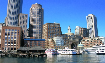 Sunset Harbor Cruise for Two from Boston Green Cruises (Up to 50% Off). Morning and Afternoon Also Available.