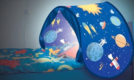 Tente de lit avec lampe LED
