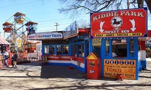 Kiddie Park - San Antonio: Unlimited Rides for Four at Kiddie Park (Up to 64% Off). Three Options Available.