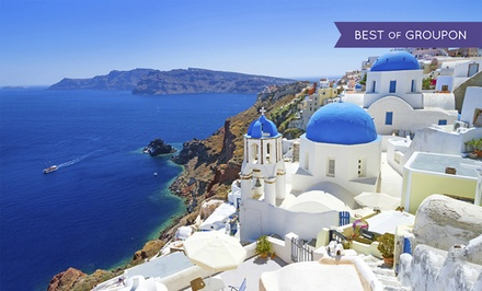 ✈ 10-Day Greece Vacation with Airfare from Gate 1 Travel. Price/Person Based on Double Occupancy.