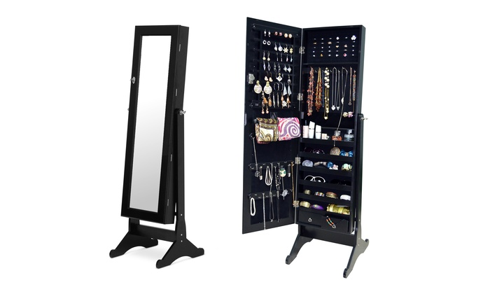 Genial ... Bella Wooden Dressing Mirror With Jewelry Cabinet ...