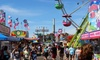 Hudson Valley Fair - Fishkill: Visit for Two, Four, or Six to Hudson Valley Fair (Up to 46% Off)
