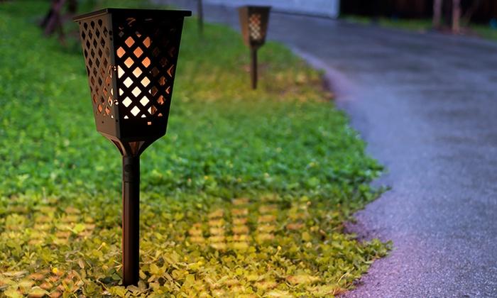 Fino a 67 su torcia a led da giardino groupon for Groupon arredo giardino