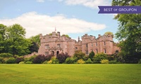 Northumberland: Stay for Two with Breakfast; with Option for Dinner at Otterburn Castle Hotel Restaurant & Bar