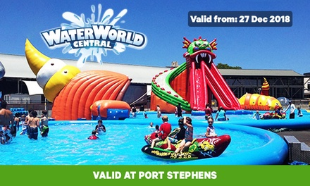 $17.50 for Unlimited Two-Hour WaterworldPass at Waterworld Central Port Stephens (Up to $25 Value)