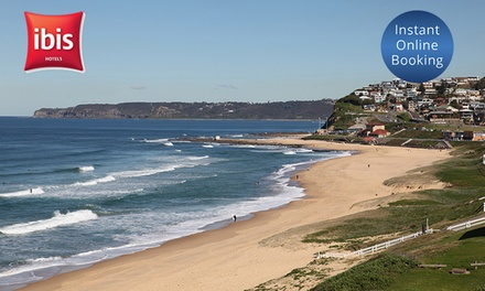 Newcastle, NSW: Up to 2 Nights for Two People with Options for Breakfast and Food and Beverage Credit at Ibis Newcastle