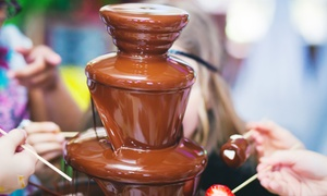 Chocolate Dipping Illusions: Three-Hour Chocolate Fountain Hire for Up to 100 Guests from Chocolate Dipping Illusions