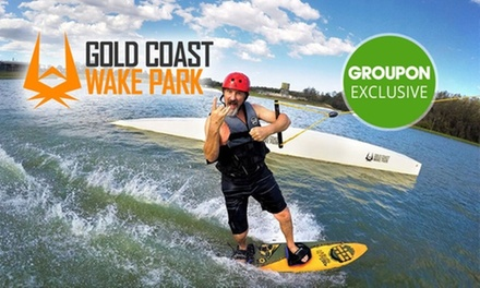 Wakeboarding or Kneeboarding: 1 ($29), 2 ($31) or 4 Hours ($41), or Full Day ($57) at GC Wake Park (Up to $84.95 Value)