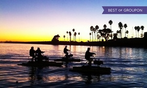 Long Beach Hydrobikes: One-Hour Daytime, Sunset, or Nighttime Hydrobike Rental for One or Two at Long Beach Hydrobikes (Up to 45% Off)