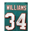 Ricky Williams Autographed Miami Dolphins Jersey