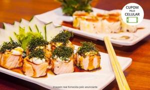 Ryotei Mangá: Ryotei Mangá - Paraíso: jantar japonês com entrada + prato principal para 2 pessoas - válido todos os dias