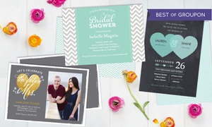 Staples - Up to 41% Off Custom Wedding Invitations  at Staples, plus 9.0% Cash Back from Ebates.