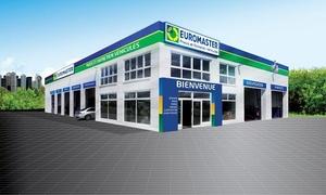 Euromaster France: Vidange, clim, révision, freinage...Euromaster: 80€ de bon d'achat pour 40€ dans plus de 274 centres partout en France