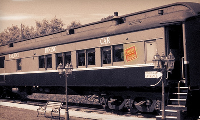 Tatamagouche Railway Dining Car - Tatamagouche: C$35 for a Steak or Seafood Dinner for Two at Tatamagouche Railway Dining Car (Up to C$82 Value)