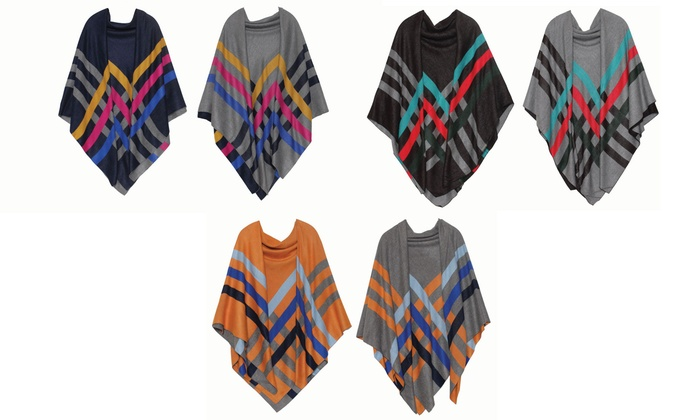 Feria Mode Women's Reversible Shawl