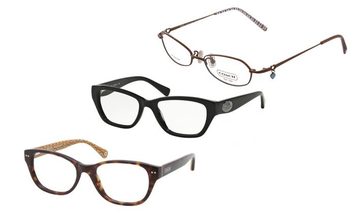Coach Eyewear Women\'s Optical Eyeglass Frames | Groupon